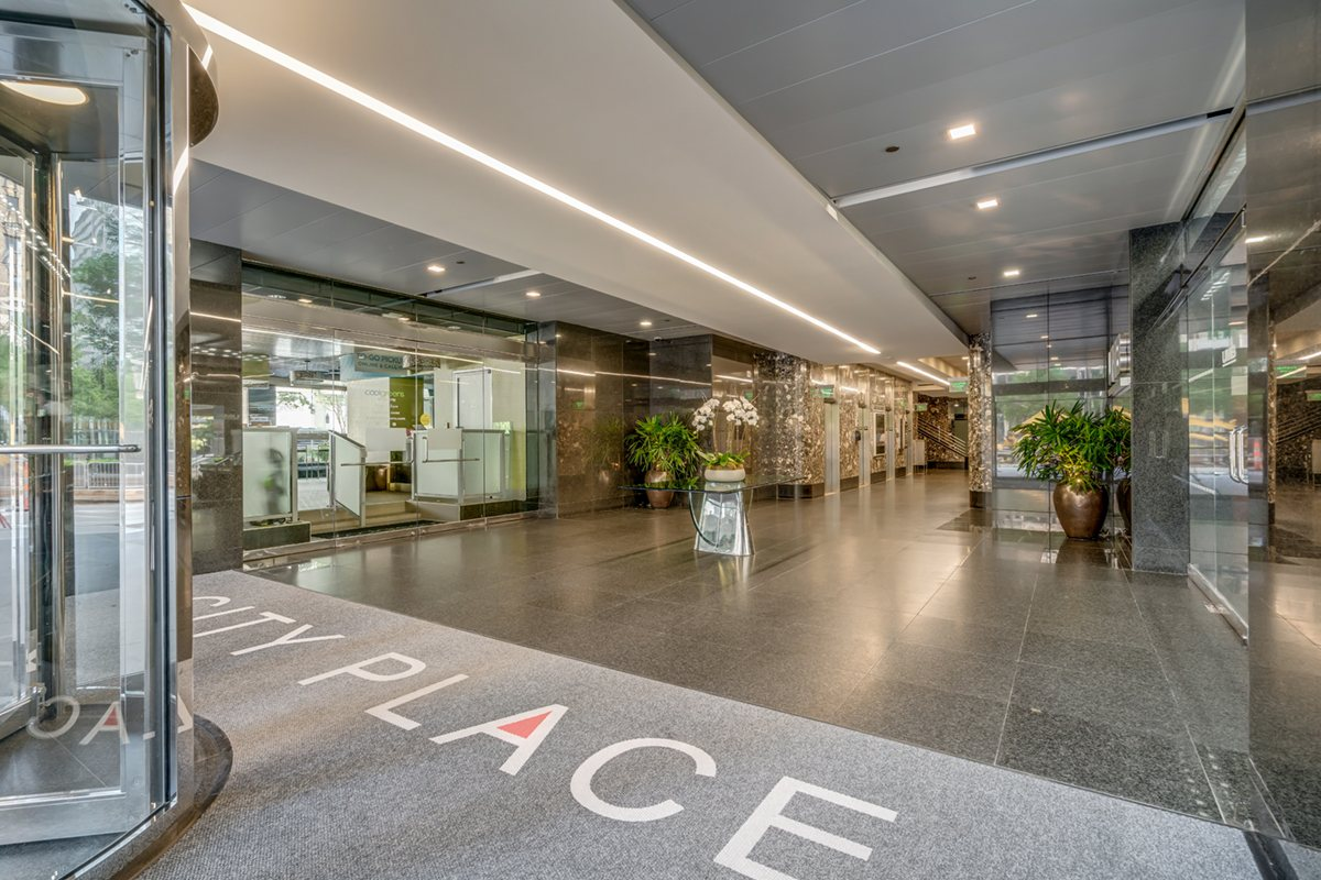 City Place interior entrance