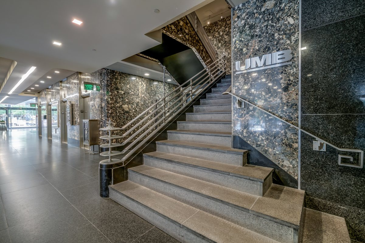 City Place staircase