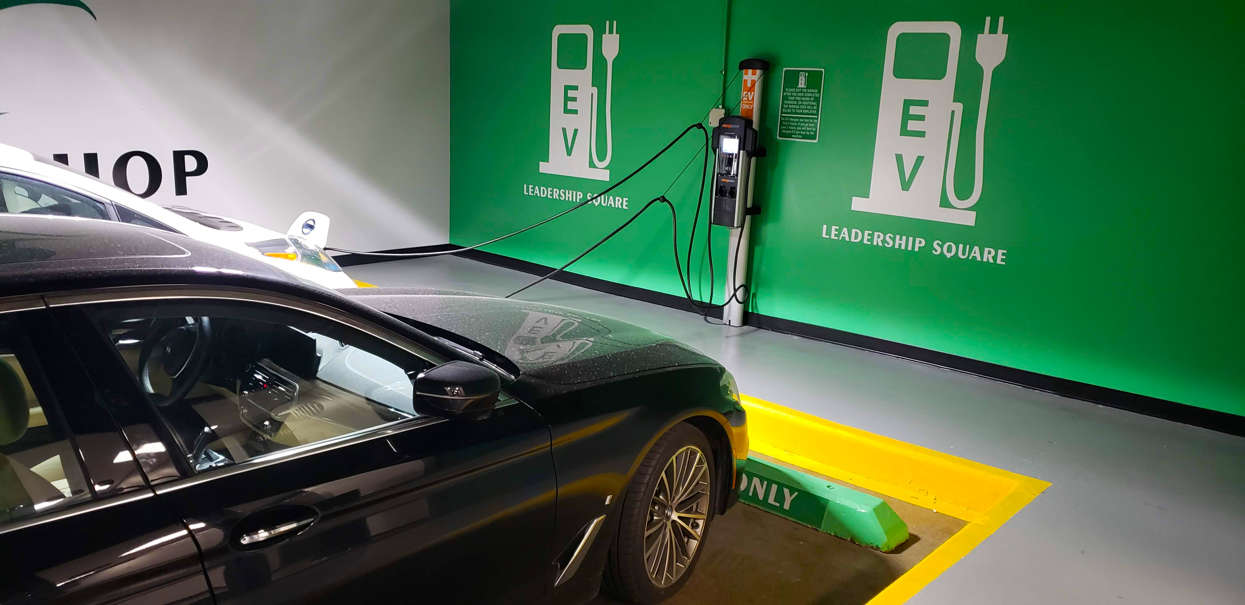 Leader Square EV Charging Station