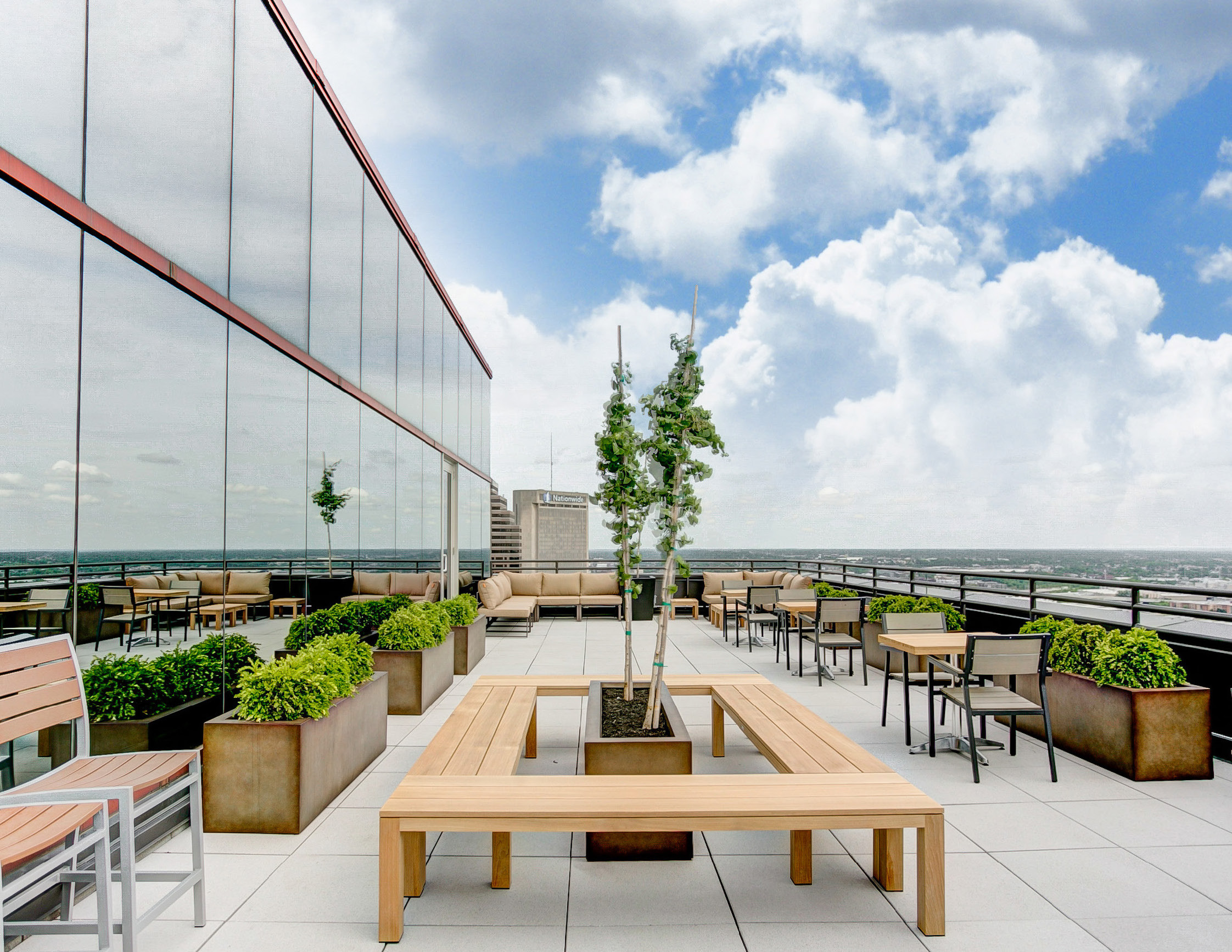 One Columbus Rooftop Lounge